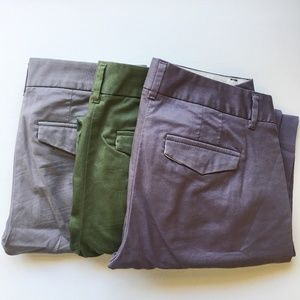 J.Crew Skimmer Pants Bundle